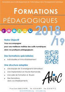 Affiche ADIEC 2018 - 2019